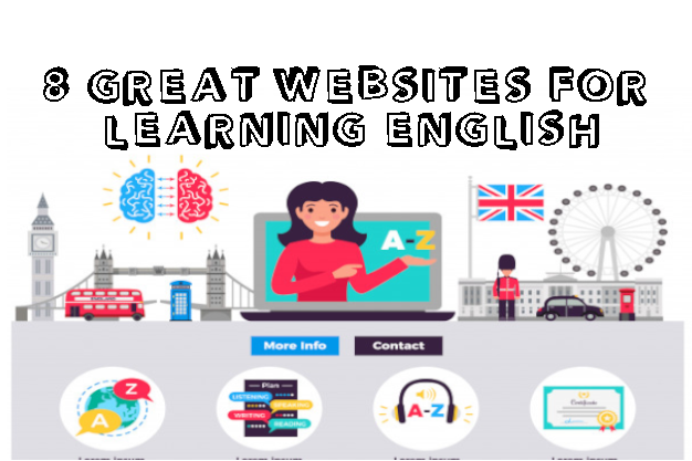 8 great websites for learning english
